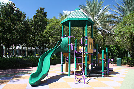 Port Orleans French Quarter playground, near the Doubloon Lagoon pool