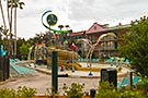 "Port Orleans French Quarter, ""Doubloon Lagoon"" children's Aquatic Play Area"