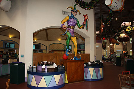 Mardi Gras Theming (pre-refurbishment)