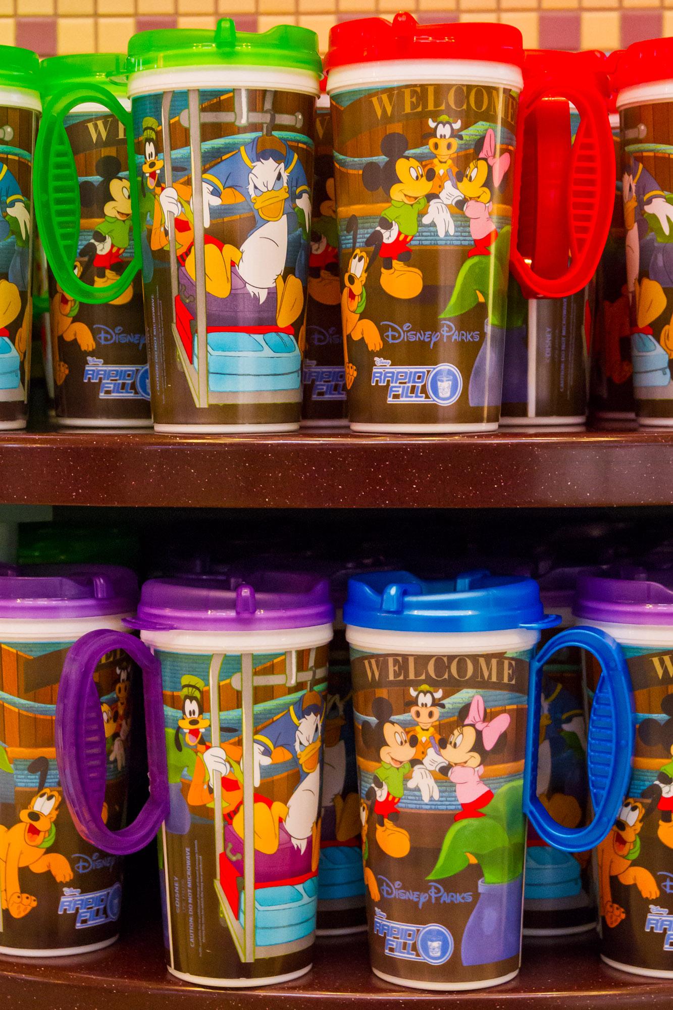 Port Orleans Refillable Mugs Rapid Fill