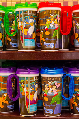 The 2014 design of Rapid Fill refillable mugs