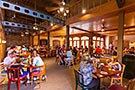 Port Orleans French Quarter, temporary food court (Fall 2016)