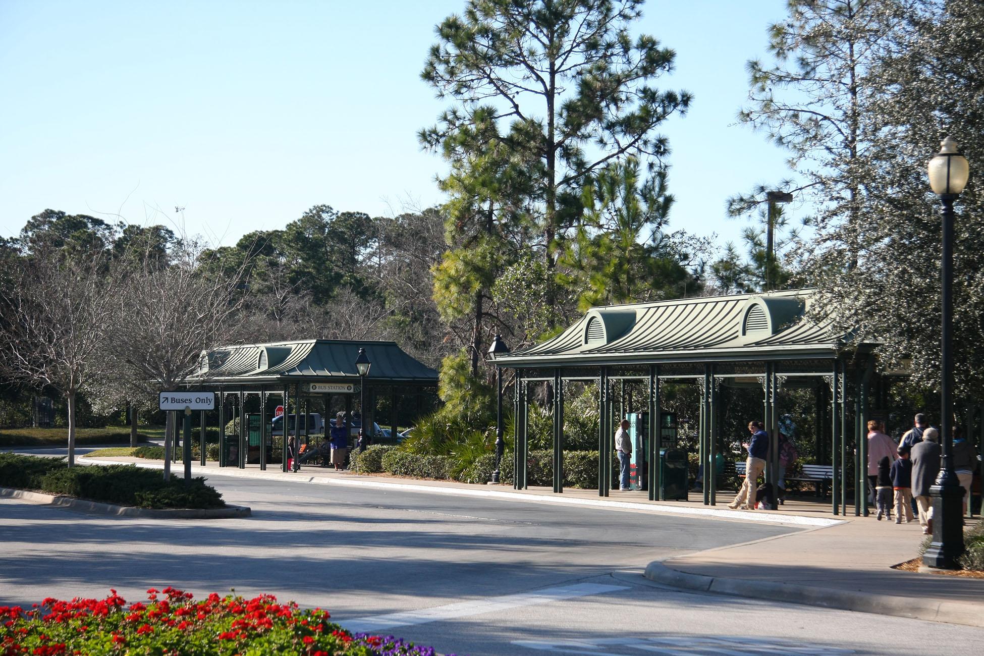 Port Orleans Walt Disney World Buses