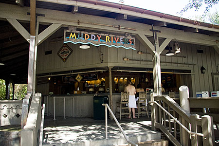 The Muddy Rivers pool bar on Ol' Man Island