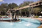 Port Orleans Riverside, Ol' Man Island pool area