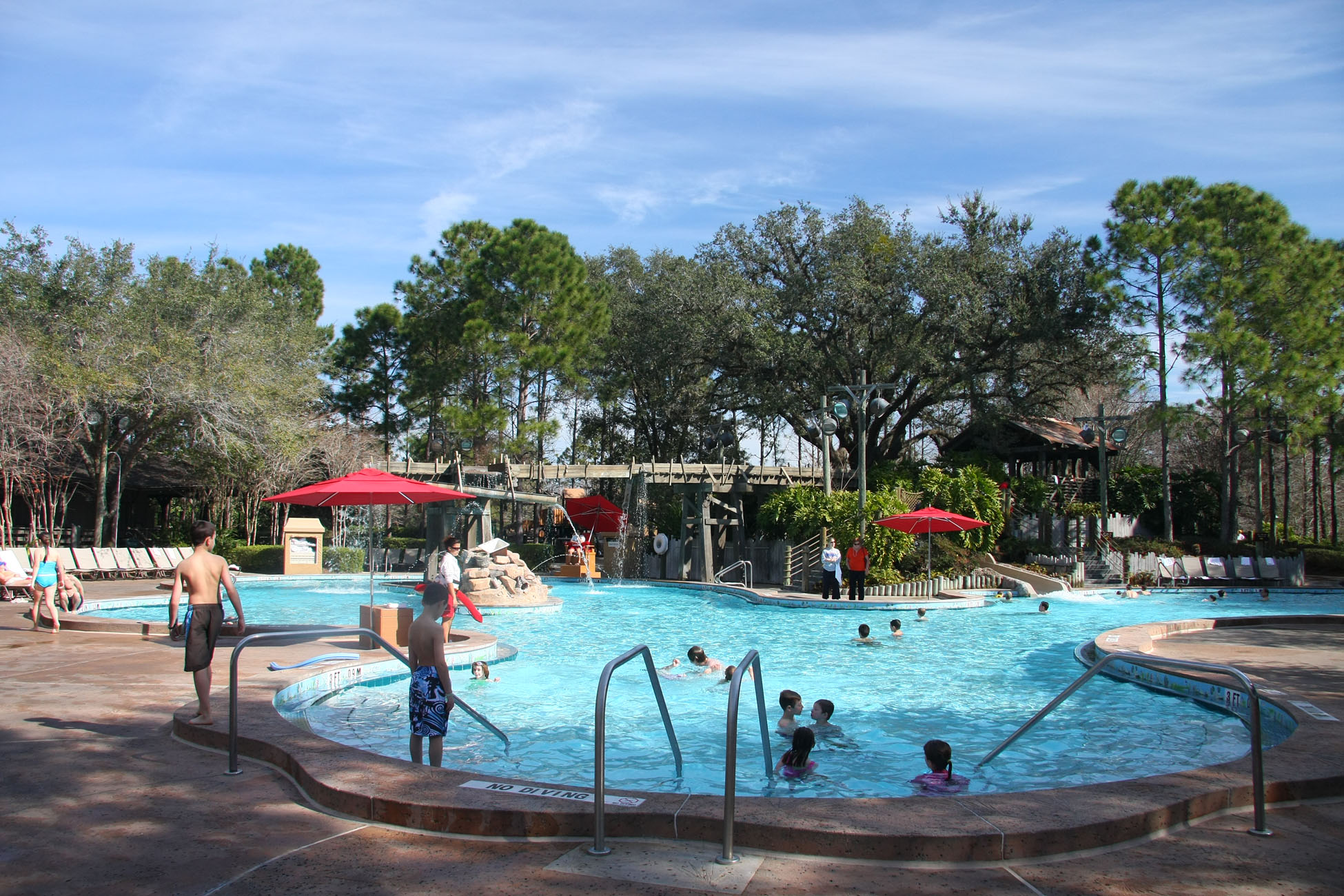 Top ten reasons for choosing to stay at disney 39 s port orleans resort for Block island resorts swimming pool