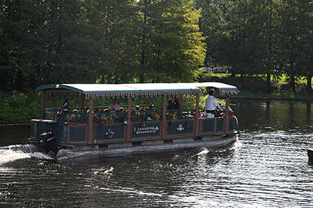 The Bayou Pirate Adventure sets sails from Port Orleans Riverside