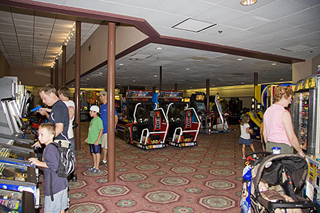 The Medicine Show Arcade at Port Orleans Riverside