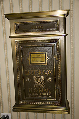 Port Orleans Riverside Lobby Mail Box