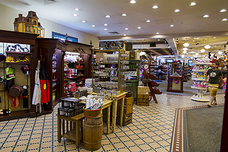 The spacious Fulton's General Store at Port Orleans Riverside