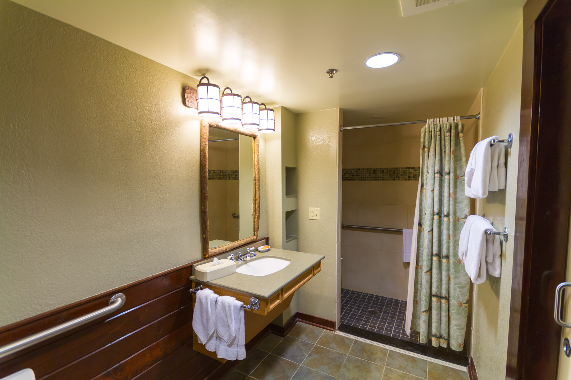 Beautiful ... Port Orleans Riverside, Wheelchair Accessible Guest Rooms (with Shower)  ...