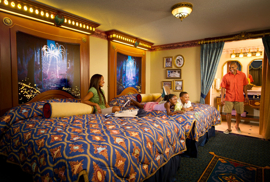 Beauty And The Beast Hotel Room Disney World