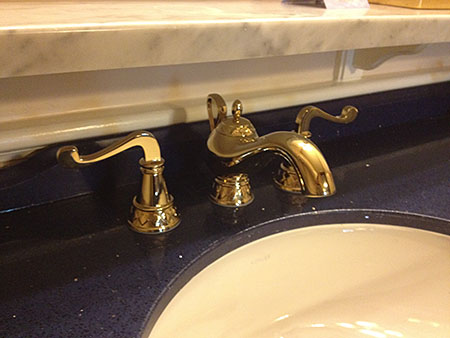 Royal Guest Room at Port Orleans Riverside, sink detail