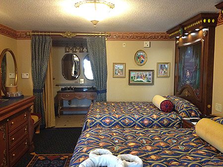 Royal Guest Room at Port Orleans Riverside
