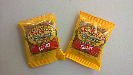 Aunt Sally's Creamy Pralines, $2.95<br><i>(Next door to Café Du Monde in the French Quarter)</i>