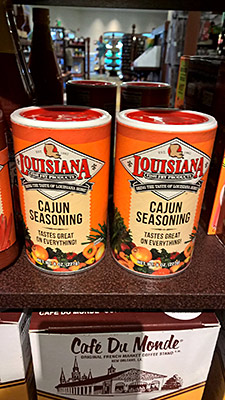 Louisiana Fish Fry Products: Cajun Seasoning, $3.29