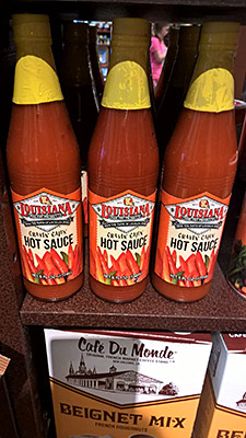 Louisiana Fish Fry Products: Cravin Cajun Hot Sauce, $1.95