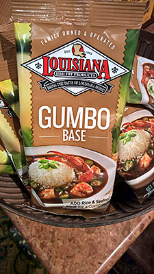 Louisiana Fish Fry Products: Gumbo Base, $3.49