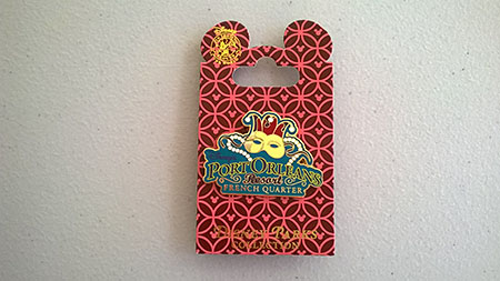 Port Orleans French Quarter Pin Badge, $8.95