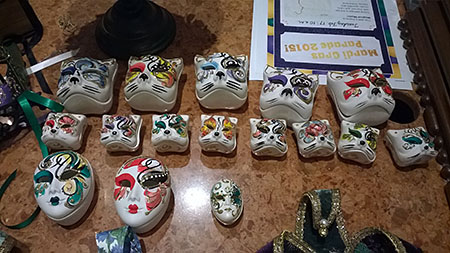 Port Orleans French Quarter Mardi Gras style jewelery boxes