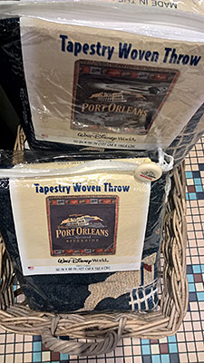 Port Orleans Riverside Throw, $74.95