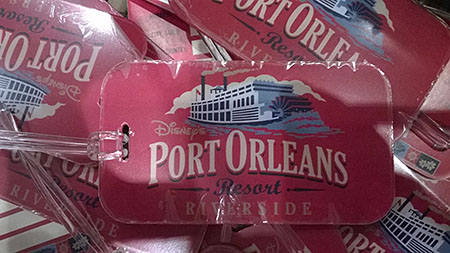 Port Orleans Riverside Luggage Tag, $7.95
