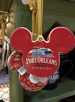 Port Orleans Riverside Ornament, $14.95