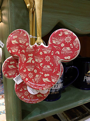 Port Orleans Riverside Ornament (back), $14.95
