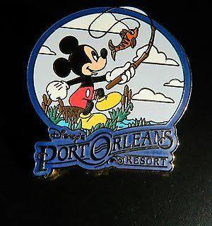 Port Orleans Resort Pin Badge (old generic style), $8.95