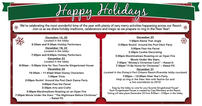 french quarter holiday activities - Christmas Eve Activities